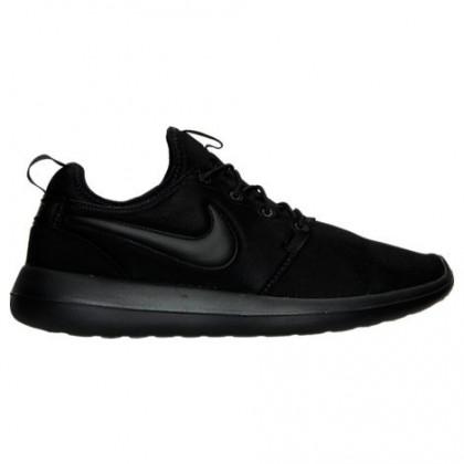 Männer Nike Roshe Two Schuhe 844656 001 Schwarz/Schwarz/Schwarz