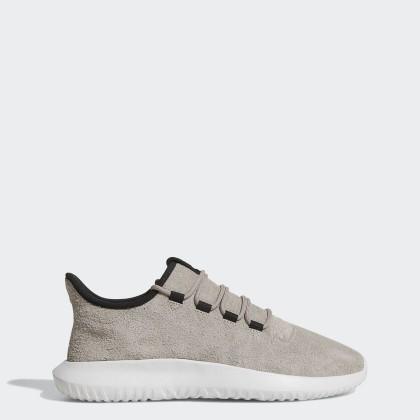 Herren Adidas Originals Tubular Shadow Dampf Grau/Ader Schwarz/Laufen Weiß Schuhe By3576