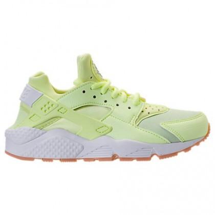 Frauen Licht Grün/Weiß/Gummi/Gelb Nike Air Huarache Schuh 634835 702