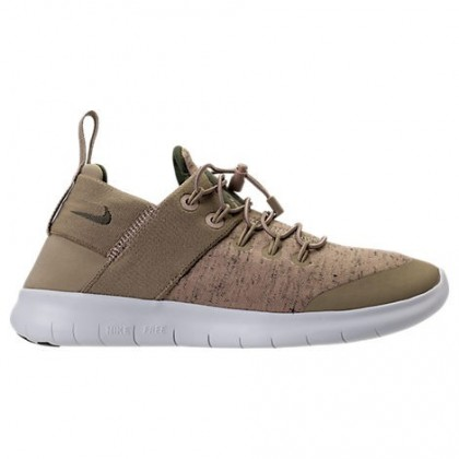 Khaki/Mittel Olive/Aus Weiß Frauen Nike Free Rn Commuter 2018 Premium Schuh Aa1622
