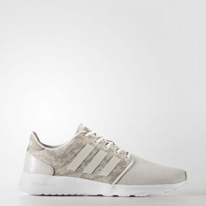 Adidas Neo Cloudfoam Qt Rennfahrer Kreide Weiß/Perle Grau/Eisig Rosa Frauen Schuh Cg5775