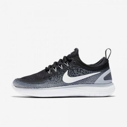 Nike Free Rn Distance 2 Frauen Schwarz/Cool Grau/Dunkel Grau/Weiß Schuh