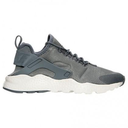 Damen Nike Air Huarache Run Ultra Cool Grau/Gipfel Weiß Schuh 819151 006