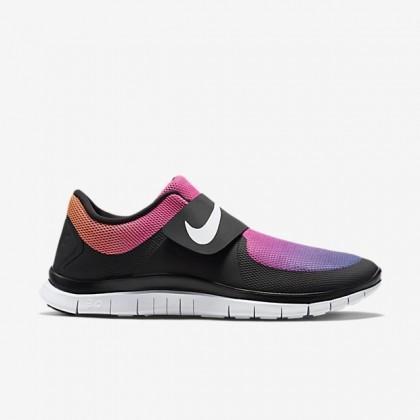 Nike Free Socfly Schwarz/Rosa Blitz/Tour Gelb/Weiß Damen/Herren Schuh