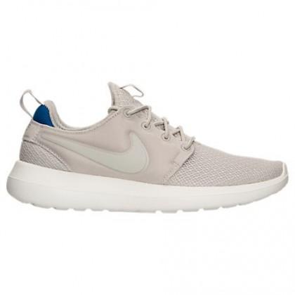 Nike Roshe Two Frauen Schuh 844931 008 Licht Knochen/Blau Jay/Beige