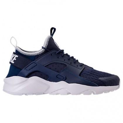 Mitternacht Marine/Hell Schwarz/Weiß Nike Air Huarache Run Ultra Herren Sneaker 819685 406