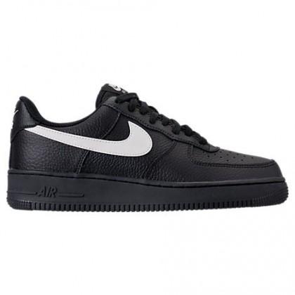 Männer Nike Air Force 1 '07 Schuh Aa4083 001 Schwarz/Beige