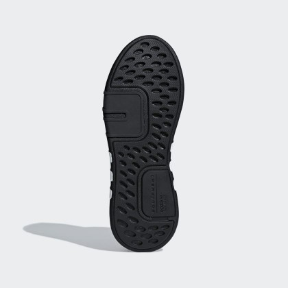 Damen/Herren Adidas Originals EQT Bask ADV Ader Schwarz/Ftwr Weiß/Hi-Res Rot Schuhe AQ1013