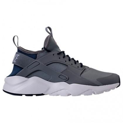 Cool Grau/Wolf Grau/Hell Schwarz Herren Nike Air Huarache Run Ultra Schuh 819685 013