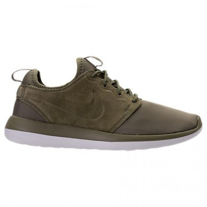 Nike Roshe Two Br Männer Schuh 898037 200 Dunkel Khaki/Weiß/Schwarz