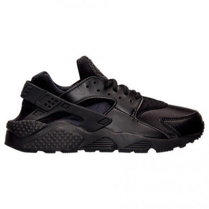 Damen Nike Air Huarache Schuh 634835 012 Schwarz/Schwarz