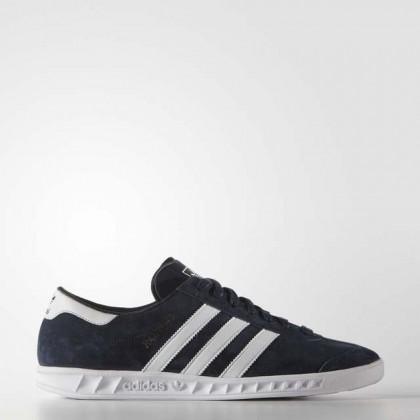 Adidas Originals Hamburg Blau/Weiß Männer Schuhe