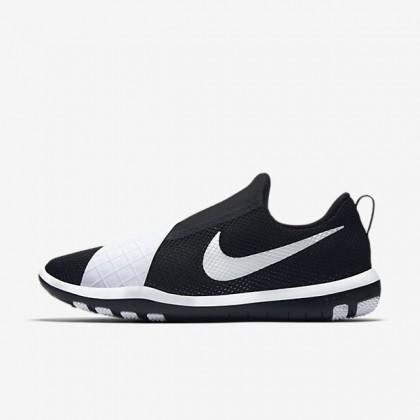 Schwarz Weiß Nike Free Connect Damen Schuh 843966-010