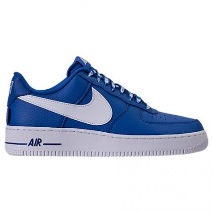 Herren Spiel Königlich/Weiß Nike Nba Air Force 1 '07 Lv8 Sneaker 823511 405