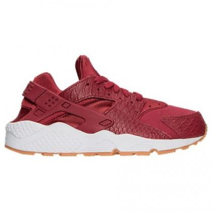 Cedar/Gum/Gelb/Weiß Nike Air Huarache Run Se Damen Schuh 859429 600