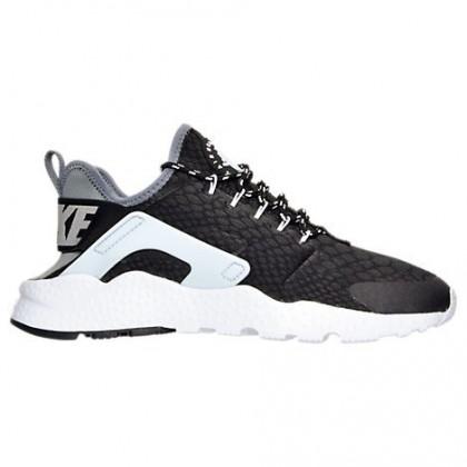 Nike Air Huarache Run Ultra Frauen Schuhe 859516 002 Schwarz/Cool Grau/Grau Weiß
