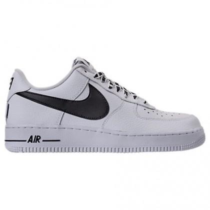 Weiß/Schwarz Herren Nike Nba Air Force 1 '07 Lv8 Schuhe 823511 103