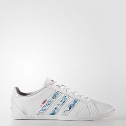 Frauen Adidas Neo Vs Coneo Qt Schuhe Cg5759 Schuhwerk Weiß/Grau Zwei