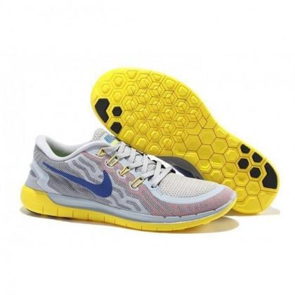 Grau Gelb Nike Free 5.0 V2 Herren Schuhe