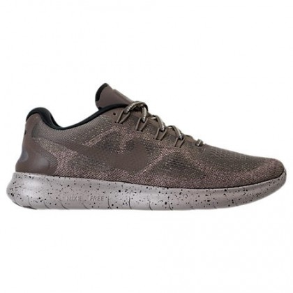 Schokolade/Grau/Schwarz Herren Nike Free Rn 2018 Reflektierend Schuhe Ah9700 200