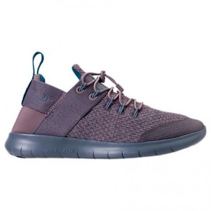 Frauen Taupe Grau/Waffenkammer Blau/Grün Abyss Nike Free Rn Commuter 2018 Premium Sneaker Aa1622 200