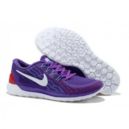 Lila Weiß Nike Free 5.0 V2 Damen Schuh