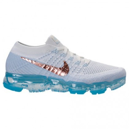 Gipfel Weiß/Wasserstoff Nike Air Vapormax Flyknit Damen Schuh 849557 104
