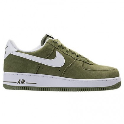 Palme Grün/Weiß Herren Nike Air Force 1 Low Sneaker 315122 306