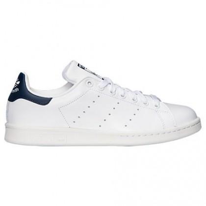 Männer Adidas Originals Stan Smith Schuh M20325 Im Weiß/Kobalt Blau