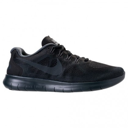Herren Schwarz/Fluoreszierend Grün/Dunkel Grau Nike Free Rn Schuh 880839 003