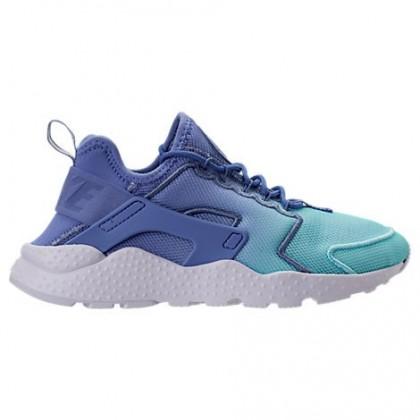 Damen Nike Air Huarache Run Ultra Atmen Polar/Immer noch Blau/Weiß Schuhe 833292 401