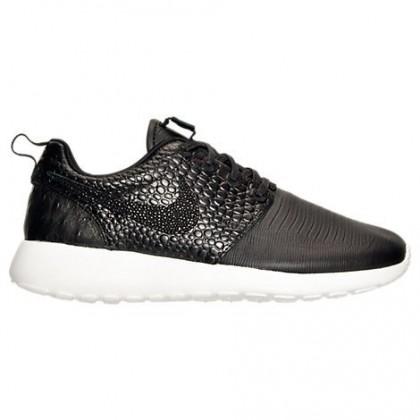 Frauen Nike Roshe One Lx Schuh 881202 001 Schwarz/Schwarz/Weiß