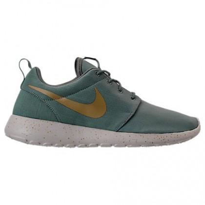 Herren Dunkel Grün/Dunkel Grün/Blass Grau Nike Roshe One Se Schuhe 844687 008