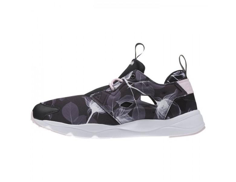2018 Reebok Furylite Damen Grafik Classic Schuhe (Blumen