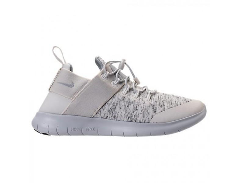 billig 2018 Beigewolf GrauGrau Weiß Damen Nike Free Rn