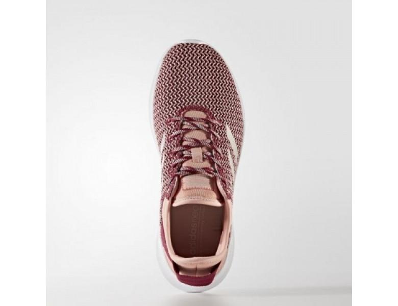 adidas neo schuhe grau rosa